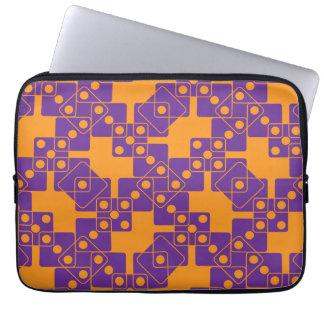 Orange Dice Computer Sleeve