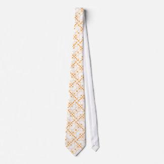 Orange Dice Tie