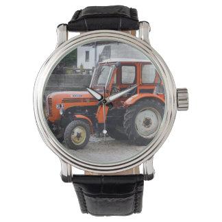 Orange Diesel Tractor Steyr KL II Watch