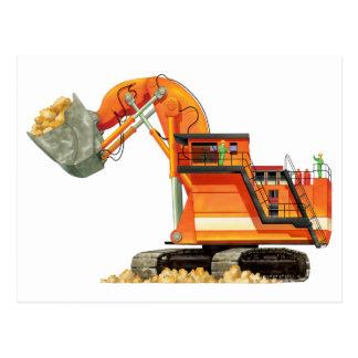 Orange Digger Post Cards