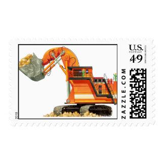 Orange Digger Stamp