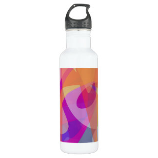Orange Domination Stainless Steel Water Bottle