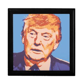 orange donald trump keepsake box