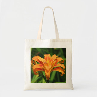 Orange Double Day Lily Tote Bag