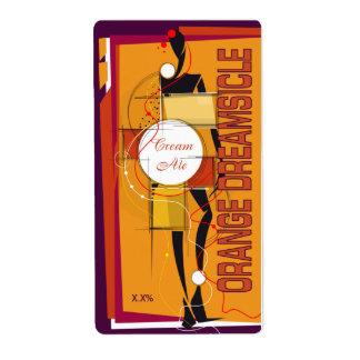 Orange Dreamsicle Cream Ale Label