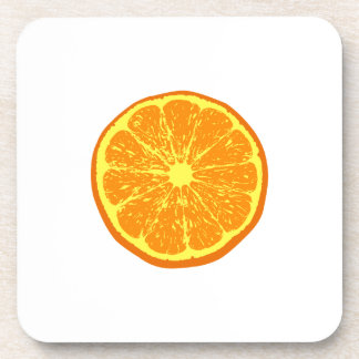Orange: Drink Coaster