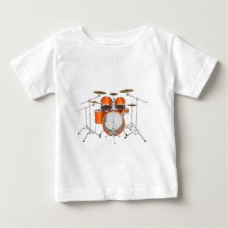 Orange Drum Kit: Baby T-Shirt