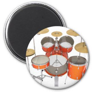 Orange Drum Kit: Magnet