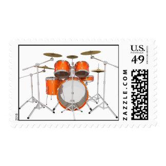 Orange Drum Kit: Postage