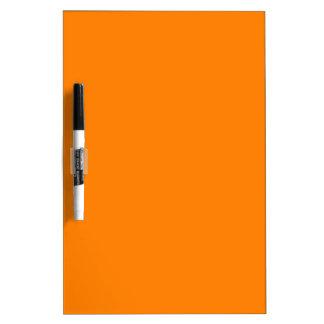 Orange Dry-Erase Boards