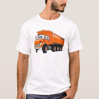 Orange Dump Truck 10w Cartoon T-Shirt
