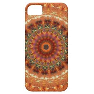 Orange Earth Mandala iPhone 5 CaseMate Case