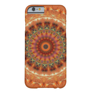 Orange Earth Mandala iPhone 6 case