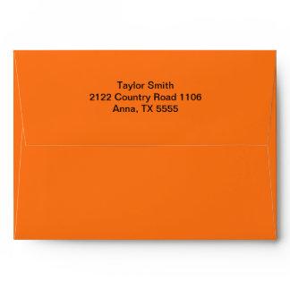 Orange Envelopes