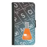 Orange Erlenmeyer (Conical) Flask Chemistry