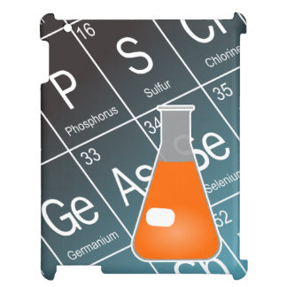 Orange Erlenmeyer (Conical) Flask Chemistry iPad Cover