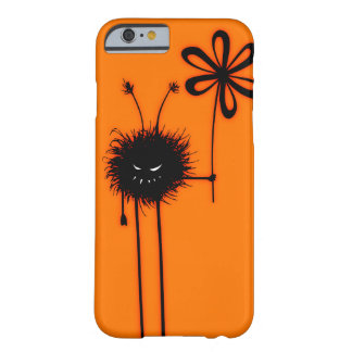 Orange Evil Flower Bug Character Halloween Barely There iPhone 6 Case