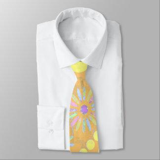 Orange examined tie