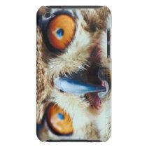 Orange Eyed Owl iPod Touch Case