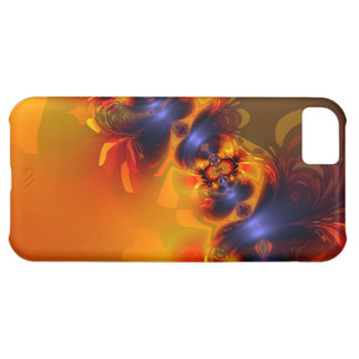 Orange Eyes Aglow – Gold & Violet Delight iPhone 5C Cover