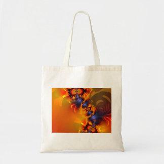 Orange Eyes Aglow – Gold & Violet Delight Tote Bag