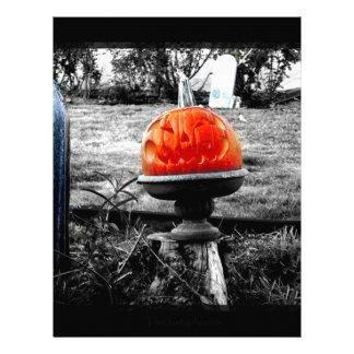 Orange Face Letterhead