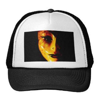 Orange Face Trucker Hat