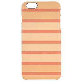 Orange Fade Clear iPhone 6 Plus Case