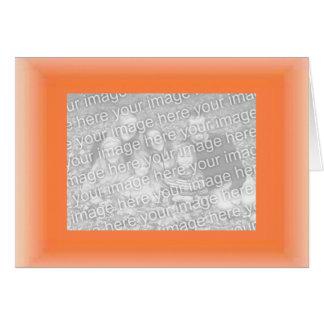 orange, family_horz_placeholder greeting card