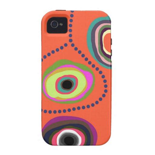 Orange Fiesta Lasso Case-Mate iPhone 4 Cases