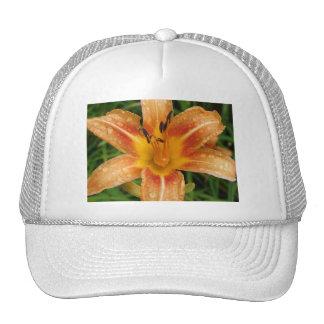 Orange Fire Lily Trucker Hat
