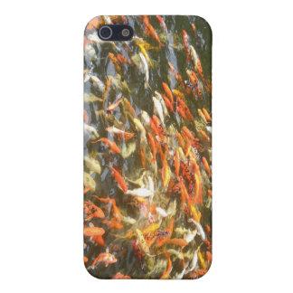 Orange Fish Coi Koi iPhone 4 Case