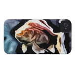 orange fish deep swimming painting blackberry bold cases