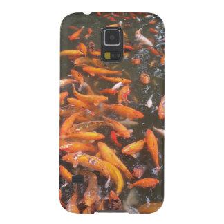 Orange Fish Galaxy S5 Cover