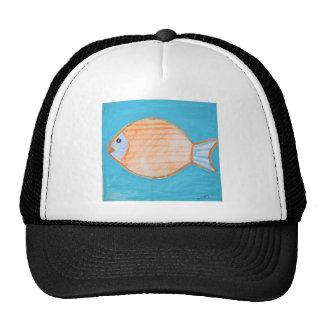 Orange Fish Hat