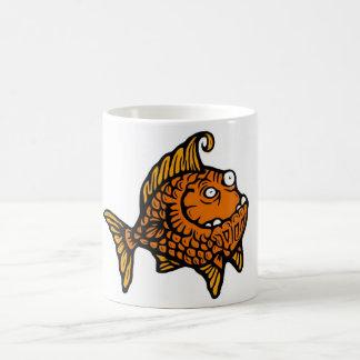 Orange Fish Classic White Coffee Mug