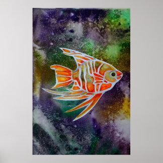 Orange Fish poster