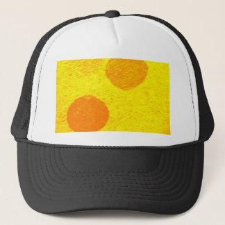 orange fish trucker hat