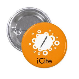 Orange Fizz iCite Small Button