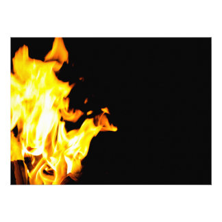 Orange flame invites