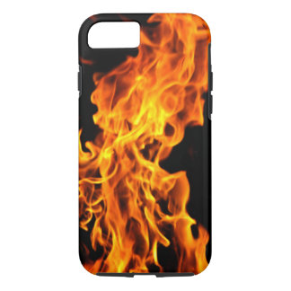 Orange flame iPhone 8/7 case