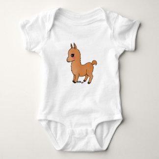 Orange flame is contiguous baby bodysuit