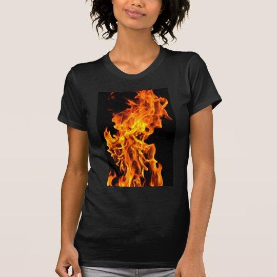 Orange flame T-Shirt