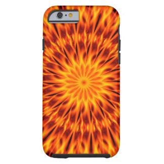 Orange Flames Kaleidoscope iPhone 6 Case