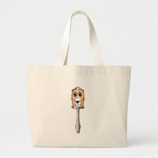 Orange Flathead Screwdriver Canvas Bags