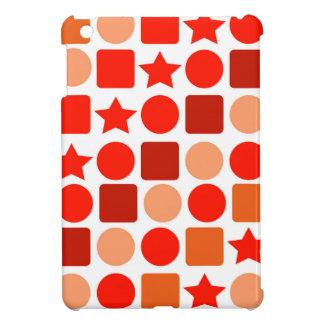 Orange-Flavored Geometrics on iPad Mini Case