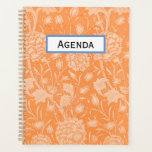 "Orange Floral Planner<br><div class=""desc"">Classic orange floral design</div>"
