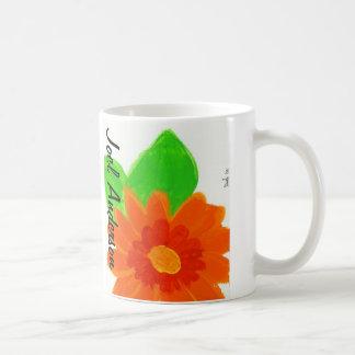 Orange Flower by Joel Anderson Coffee Mug
