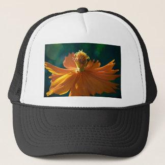 Orange Flower (Close) Trucker Hat