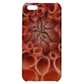 orange flower iPhone 5C case